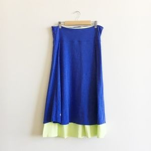 Lululemon Beat the Heat Reversible Dress Skirt